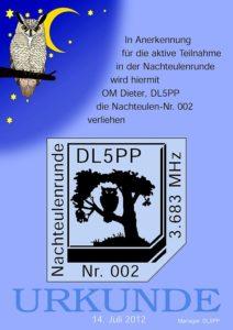 Urkunde DL5PP2012-web